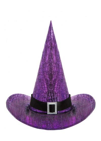 Колпак Ведьма с пряжкой цв Фиолетовый/АРТЭ/6495