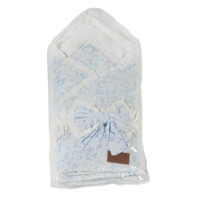 Одеяло на выписку AmaroBaby Элит голубой
