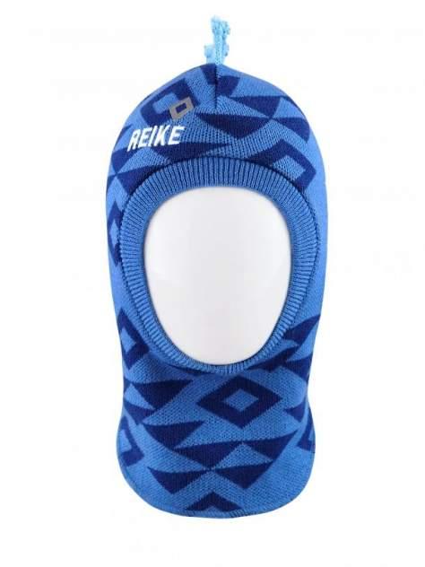 Шапка-шлем для мальчика Grizzly blue, RKN1920-4 GRZ blue, р.48
