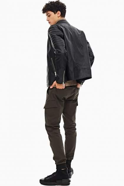 Кожаная куртка мужская Antony Morato MMCO00679-FA210045 9000 черная 46 IT
