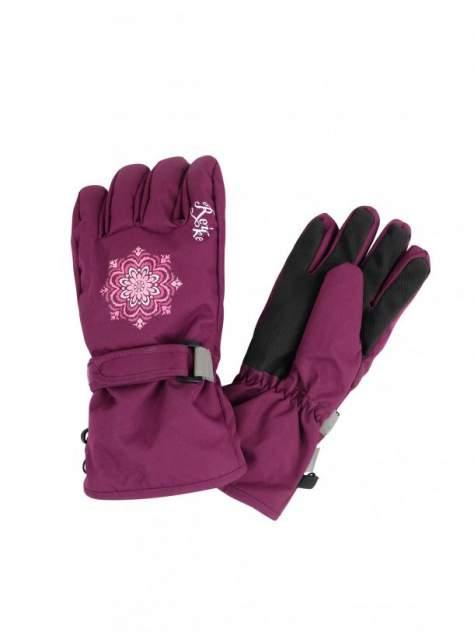 Перчатки для девочки Reike Snowflakes berry, RW20-SNW berry, 9 /13 лет/ 18 см