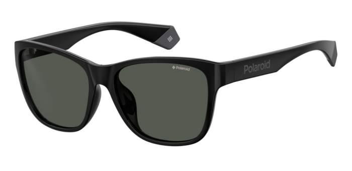 Солнцезащитные очки унисекс POLAROID PLD 6077/F/S черные