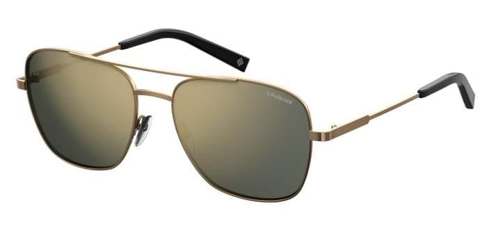 Солнцезащитные очки мужские POLAROID PLD 2068/S/X золотистые