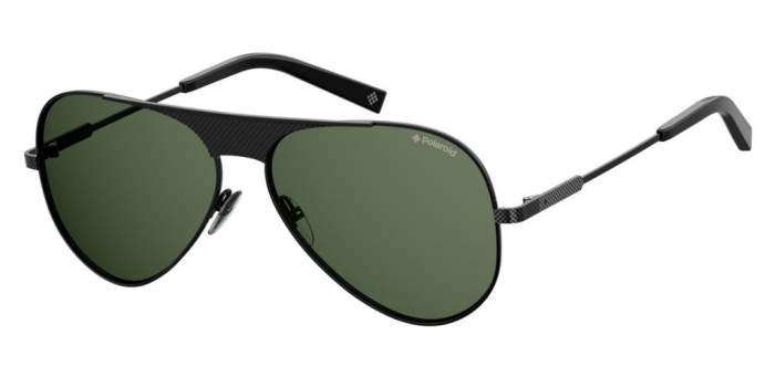Солнцезащитные очки мужские POLAROID PLD 2067/S/X черные