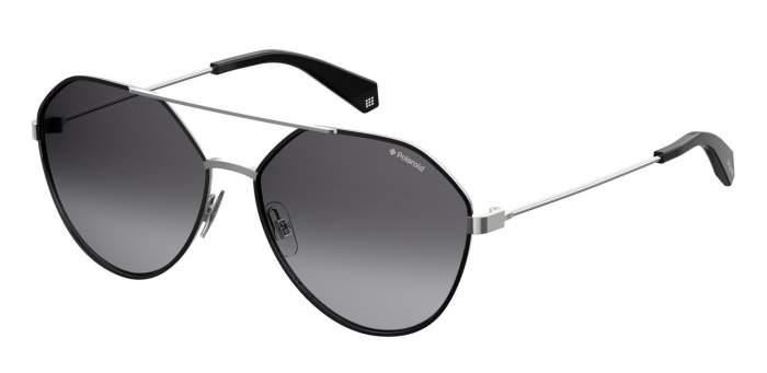 Солнцезащитные очки унисекс POLAROID PLD 6059/F/S серебристые