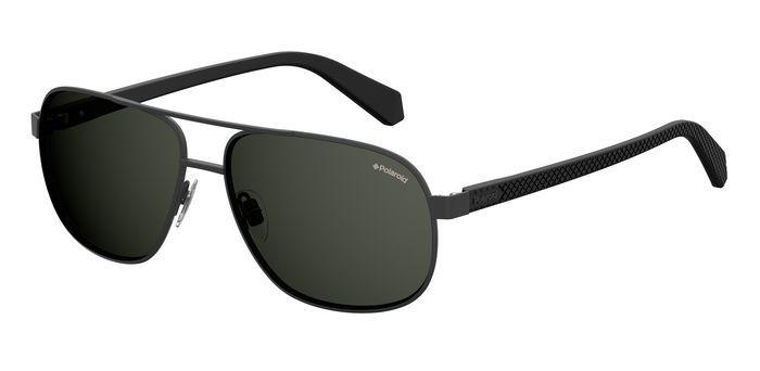 Солнцезащитные очки мужские POLAROID PLD 2059/S черные