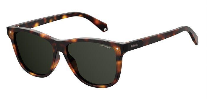 Солнцезащитные очки унисекс POLAROID PLD 6035/S коричневые