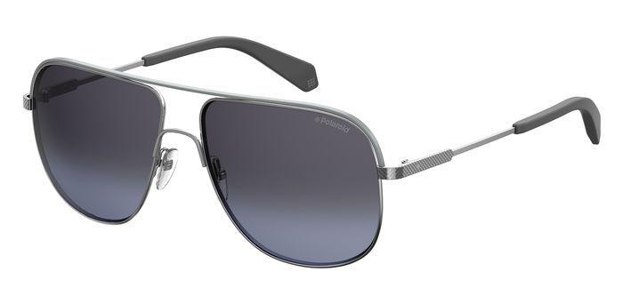 Солнцезащитные очки мужские POLAROID PLD 2055/S серебристые