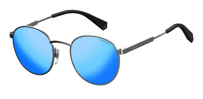 Солнцезащитные очки унисекс POLAROID PLD 2053/S серебристые