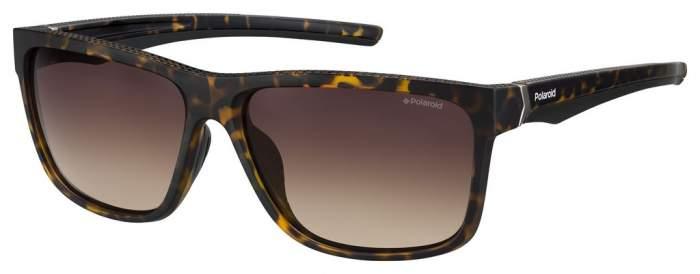 Солнцезащитные очки мужские POLAROID PLD 7014/S коричневые