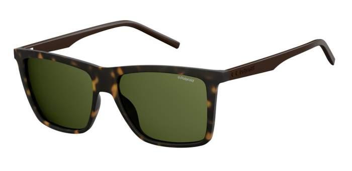 Солнцезащитные очки мужские POLAROID PLD 2050/S коричневые