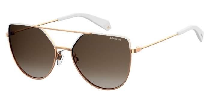 Солнцезащитные очки женские POLAROID PLD 6057/S золотистые