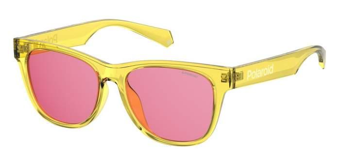 Солнцезащитные очки женские POLAROID PLD 6053/F/S желтые
