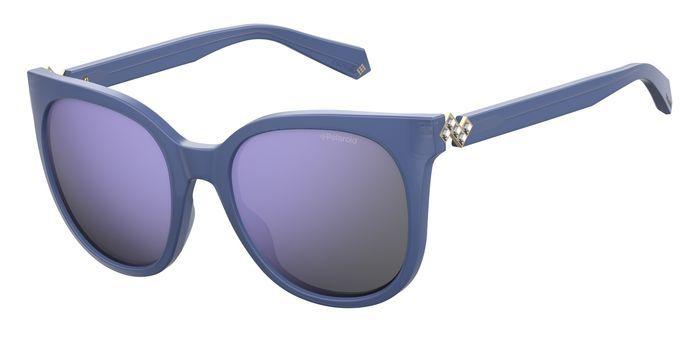 Солнцезащитные очки женские POLAROID PLD 4062/S/X синие