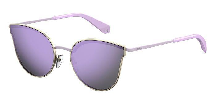 Солнцезащитные очки женские POLAROID PLD 4056/S золотистые