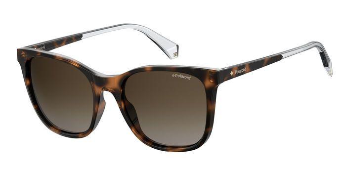 Солнцезащитные очки женские POLAROID PLD 4059/S коричневые