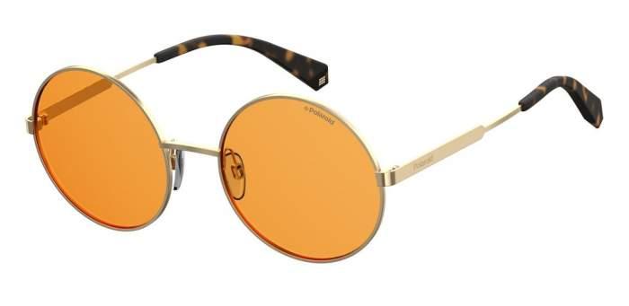 Солнцезащитные очки женские POLAROID PLD 4052/S золотистые