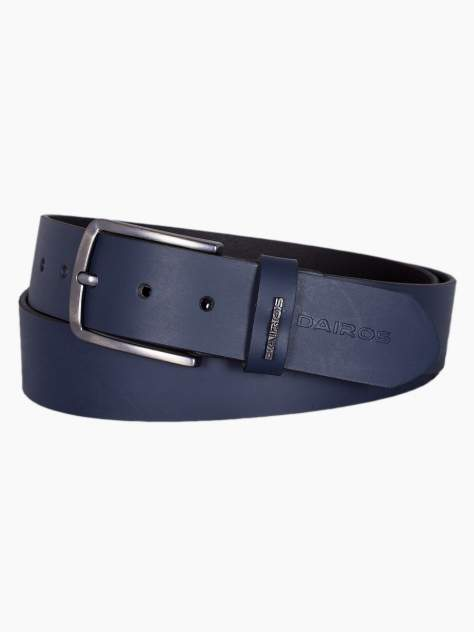 Ремень мужской Dairos GD22500275/135 темно-синий 135 см