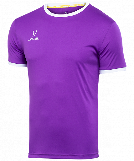 Jögel Футболка футбольная CAMP Origin JFT-1020-V1, фиолетовый/белый - S