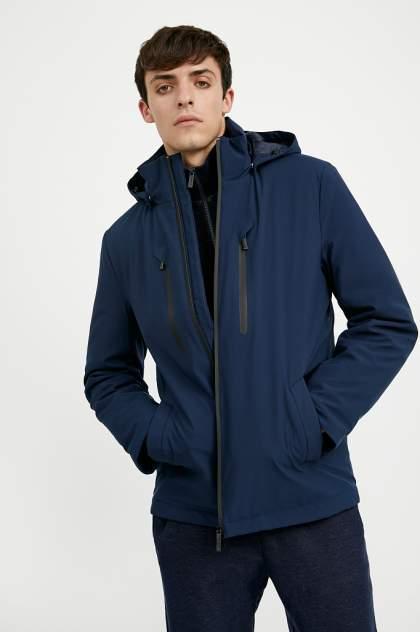 Куртка мужская Finn Flare A20-21006 синяя 2XL