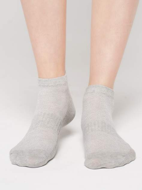 Набор носков 3 пары женских ТВОЕ A6469 серых 35-41