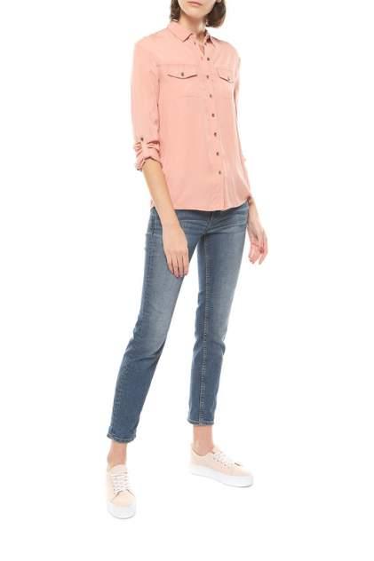 Джинсовая рубашка женская S.Oliver 14.707.11.4422 розовая 42