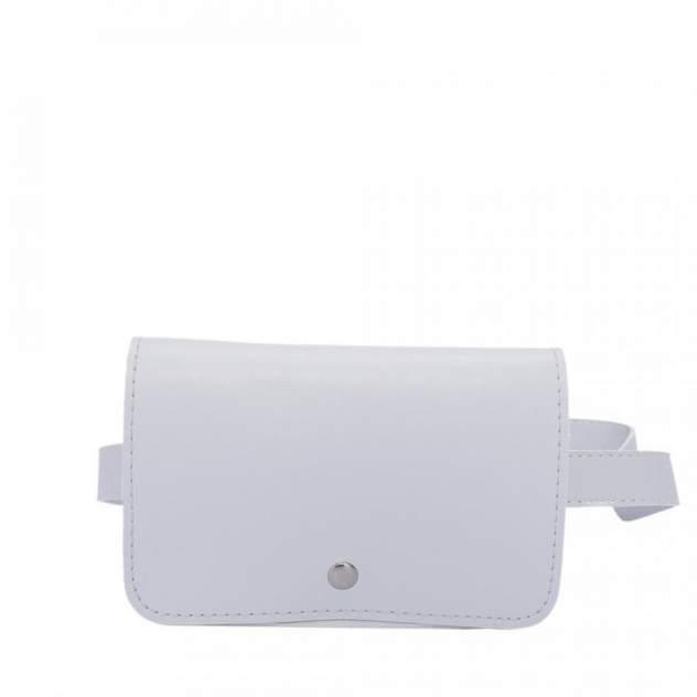 Поясная сумка женская OrsOro PS-0035 светло-серая