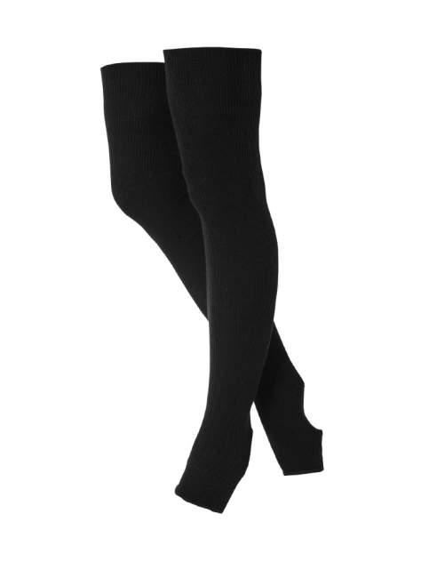 Chanté Гетры гимнастические разогревочные Stella Black, шерсть, 30 см