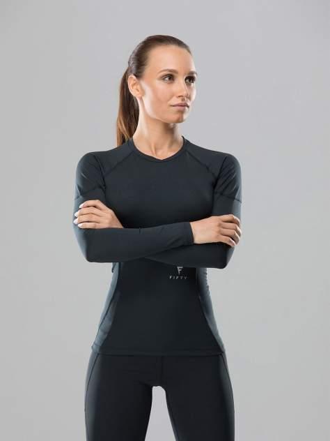 FIFTY Женская футболка с длинным рукавом High Tension FA-WL-0101-BLK, черный - S