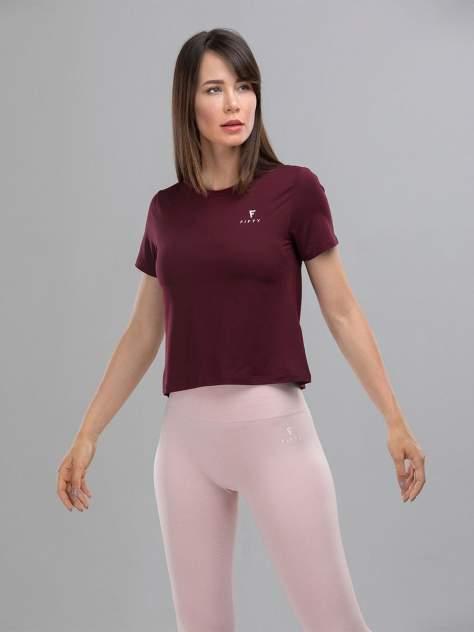 FIFTY Женская футболка Covert Glance FA-WT-0104-BRD, бордовый - M