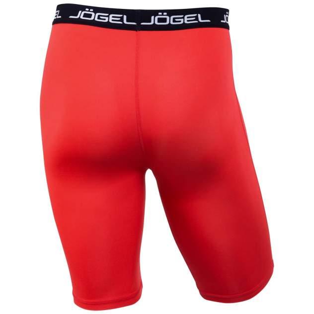 Jögel Шорты компрессионные Camp Tight Short PERFORMDRY JBL-1300-021, красный/белый - XS