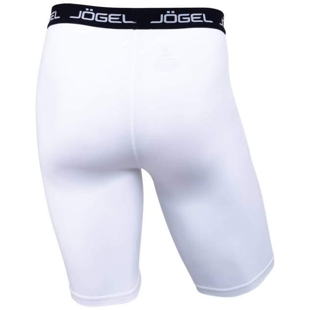 Jögel Шорты компрессионные Camp Tight Short PERFORMDRY JBL-1300-016, белый/черный - L