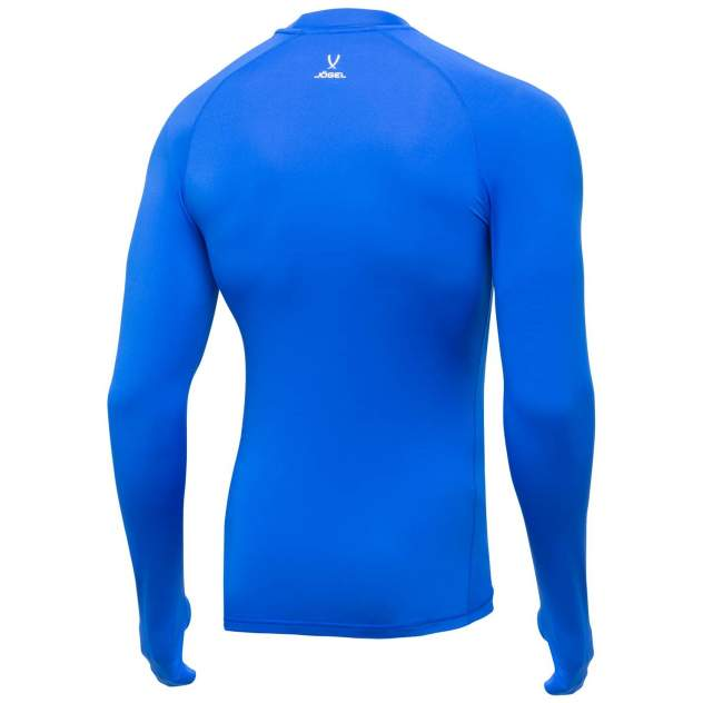 Футболка Jögel Camp Top LS PERFORMDRY JBL-1200-071, синий/белый - M