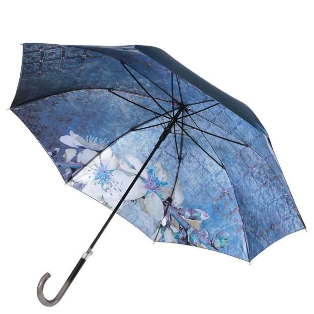 Зонт-трость женский автоматический FABRETTI 1946 голубой