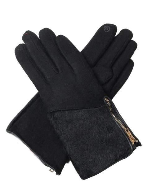 Перчатки женские Venera 9503864 черные/золотистые
