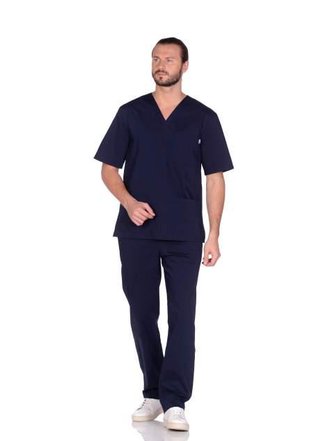 Костюм медицинский мужской Med Fashion Lab 03-105-08-336 синий 46-176