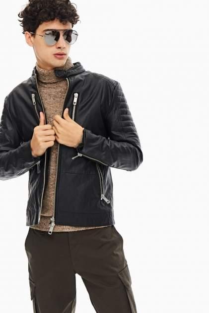 Кожаная куртка мужская Antony Morato MMCO00679-FA210045 9000 черная 52 IT