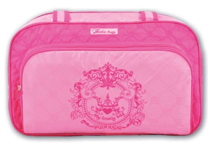 Сумка детская Феникс+ для девочек Розовый узор