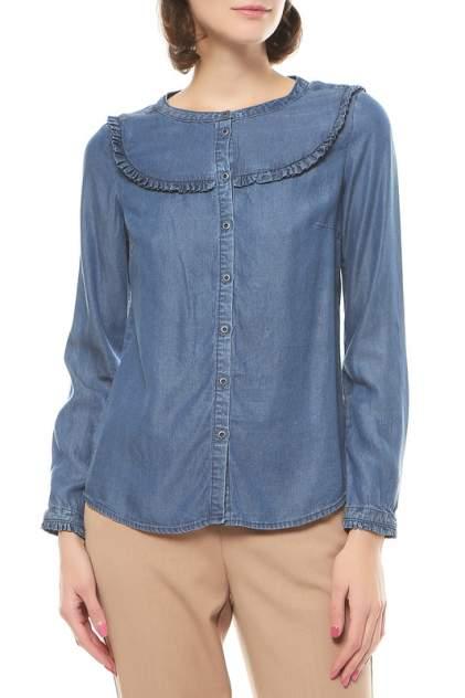 Джинсовая рубашка женская S.Oliver 14.708.11.4425 синяя 40