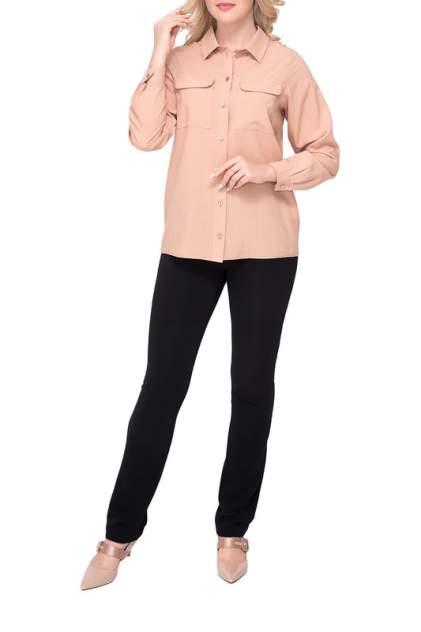 Рубашка женская Незнакомка 01.9338.2418 бежевая 54