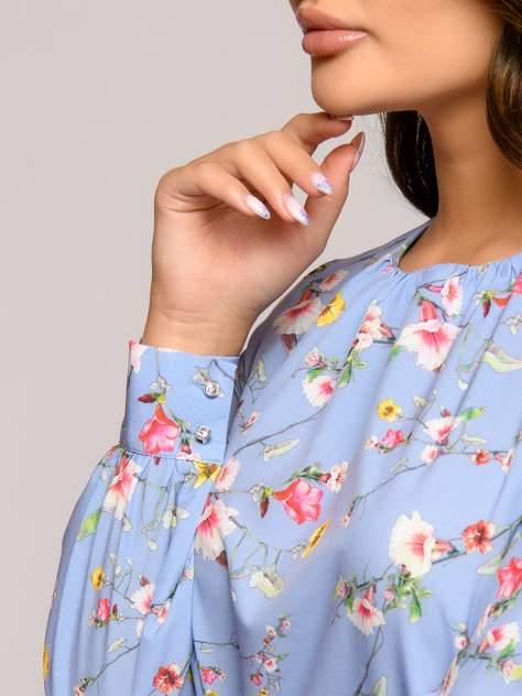 Повседневное платье женское 1001dress 0112001-01814WP голубое 42