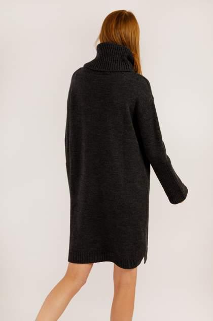 Женское платье Finn Flare A19-11117, серый