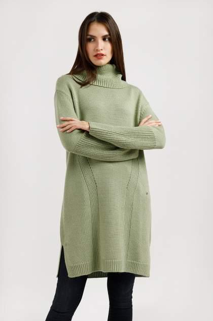 Женское платье Finn Flare A19-11117, зеленый