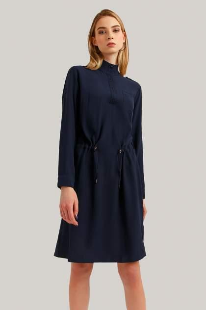 Платье женское Finn Flare B19-11032 синее 2XL