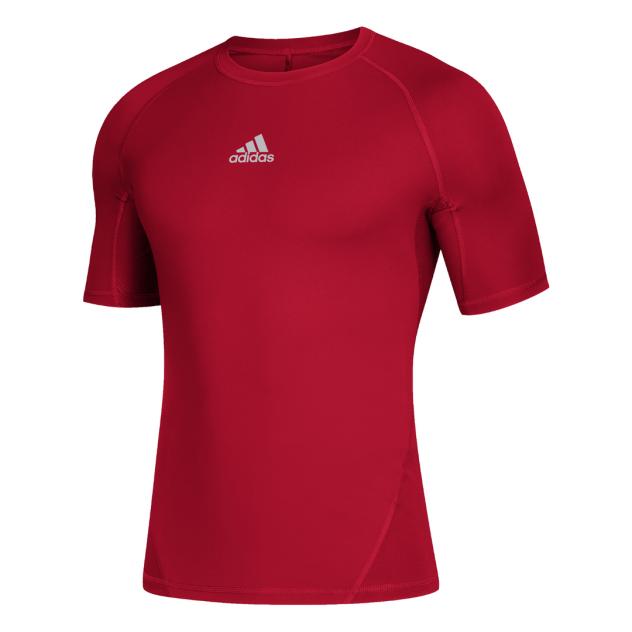 Футболка мужская adidas Alphaskin Sport SS Tee красная XL