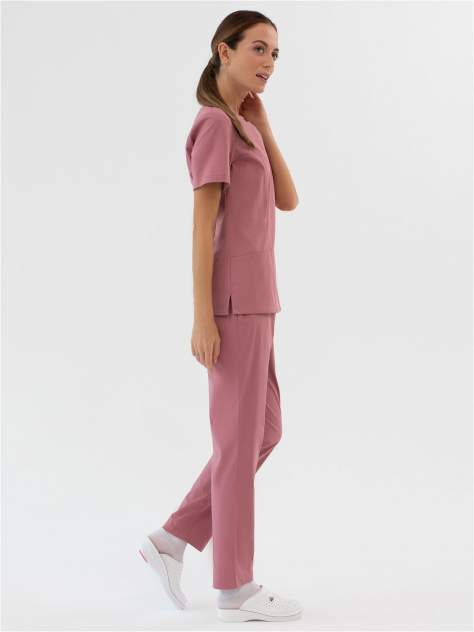Костюм медицинский женский Med Fashion Lab 03-715-08-919 розовый 48-170