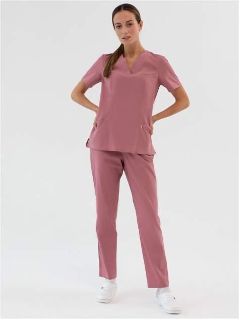 Костюм медицинский женский Med Fashion Lab 03-715-08-919 розовый 48-164