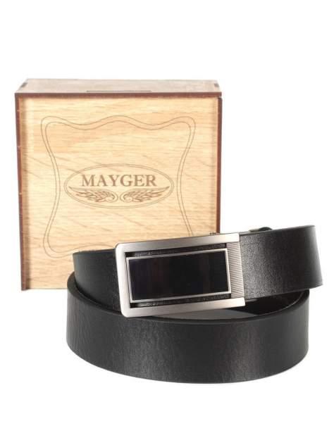 Ремень мужской MAYGER А-РН-5501 черный, 105 см