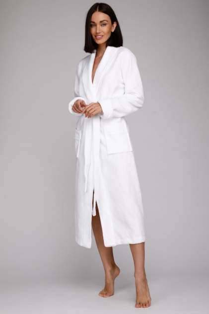 Домашний халат женский Peche Monnaie Naturel_woman, белый