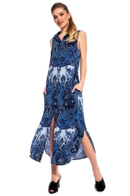 Платье-сарафан женское Peche Monnaie Sunrise синее S